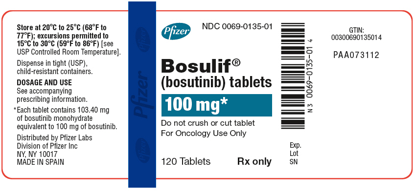 PRINCIPAL DISPLAY PANEL - 100 mg Bottle Label